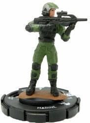 Heroclix Halo: 10th Anniversary 002 Marine (Battle Rifle)