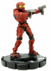 Heroclix Halo: 10th Anniversary 009 Spartan (Dual Magnums)