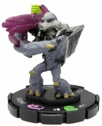 Heroclix Halo: 10th Anniversary 015 Grunt (Fuel Rod Cannon)