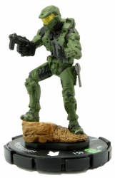 Heroclix Halo: 10th Anniversary 018 Master Chief (Dual SMGs)