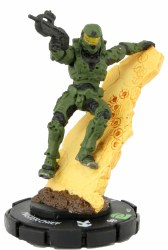 Heroclix Halo: 10th Anniversary 020 Master Chief (Battle Rifle)