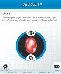 Heroclix Infinity Gauntlet S102 Power Gem