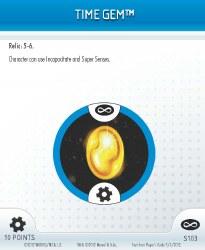 Heroclix Infinity Gauntlet S103 Time Gem