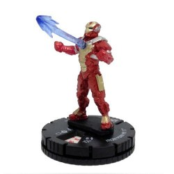 Heroclix Iron Man 3 Movie 009 Iron Man Mk 17