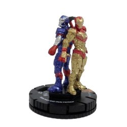 Heroclix Iron Man 3 Movie 017 IronMan and Iron Patriot