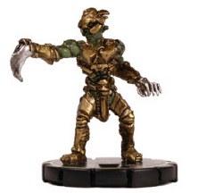 Heroclix INDY 008 Saurian Trooper