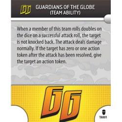 Heroclix Invincible TA001 Guardians Globe