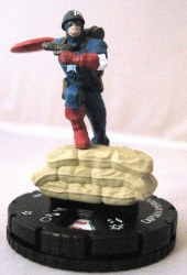 Heroclix 10th Anniversary Marvel 001 Captain America