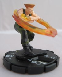 Heroclix Street Fighter 007 Guile