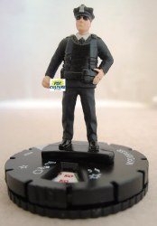 Heroclix Superior Foes of Spider-Man 003a NYPD Officer Prime