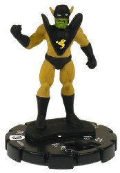 Heroclix Secret Invasion 006 Yellowjacket (Human)