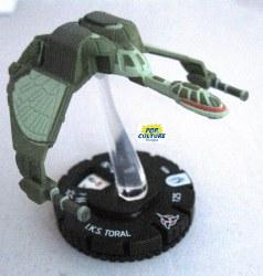 Heroclix Star Trek Tactics III 006 IKS Toral