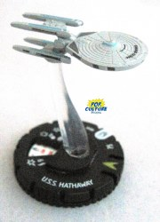 Heroclix Star Trek Tactics III 010 USS Hathaway