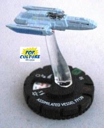 Heroclix Star Trek Tactics III 019 Assimilated Vessel 77139