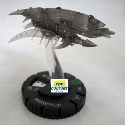 Heroclix Star Trek Tactics IV 020 Prototype 01
