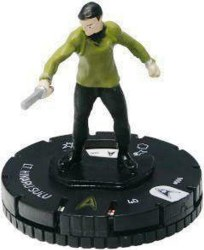 Heroclix Star Trek Tactics Away Team 006 Lt. Hikaru Sulu