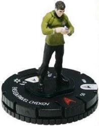 Heroclix Star Trek Tactics Away Team 007 Ensign Pavel Chekov