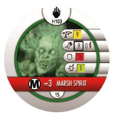 Heroclix The Two Towers H103 Marsh Spirit
