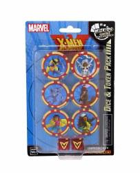 Heroclix X-men The Animated Series Dice & Token Set