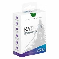 Katana Standard Sleeves: 100 Green