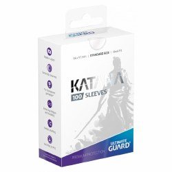 Katana Standard Sleeves: 100 Transparent