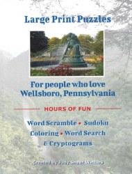 Wellsboro Large Print Puzzle Book