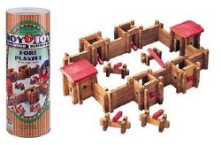 Log Building Set: Fort Canister