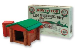 Log Building Set: The Farm Box