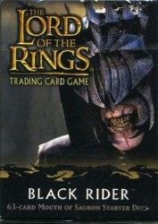 Lord of the Rings TCG: Black Rider - Mouth of Sauron Starter Deck