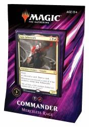 Magic the Gathering Commander 2019 Merciless Rage Deck