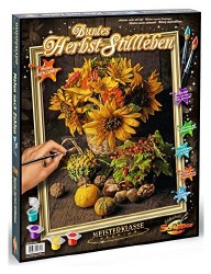 Masterpiece Paint by Numbers: Autumn Color Still Life