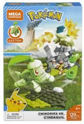 Mega Construx: Pokemon Chikorita vs. Cyndaquil