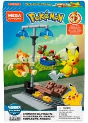 Mega Construx: Pokemon Chimchar vs. Pikachu