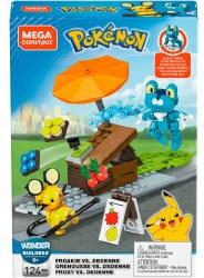 Mega Construx: Pokemon Froakie vs. Dedenne