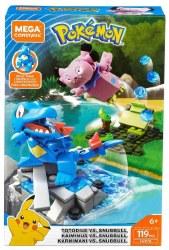 Mega Construx: Pokemon Totodile vs. Snubbull