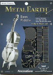 Metal Earth Bass Fiddle