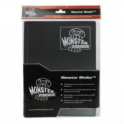 Monster 4-Pocket Binder: Black
