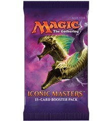 Magic the Gathering Iconic Masters 2017 Booster Pack