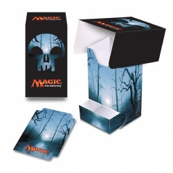 Magic the Gathering Mana Deck Box with Dice Tray Black