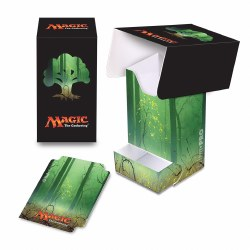Magic the Gathering Mana Deck Box with Dice Tray Green