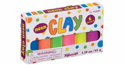 Clay: Mini Neon Modeling Clay