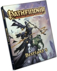 Pathfinder Bestiary 5 Hardcover