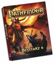 Pathfinder Beastiary 6 Pocket Edition