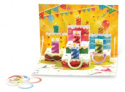 Pop 'n Play: Birthday Cake Card