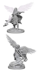 D&D HD Minis: Aasimar Wizard (Female)