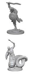 D&D HD Minis: Yuan-Ti Malisons (Male)