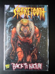 Sabretooth Back to Nature Signed