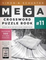 Simon & Schuster  Mega Crossword Book #11