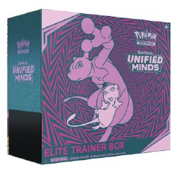 Pokemon Sun & Moon 11: Unified Minds Elite Trainer Box