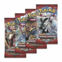 Pokemon Sun & Moon 4: Crimson Invasion Booster Pack